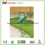 Dekorative Garten-Metalleulen-Figürchen für Rasen-Dekoration