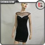 2017 Qualitäts-Sommer-Frauen-Kleid-Form-Marken-Berufsdame Formal Lace Dress