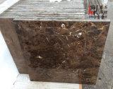 Azulejo de mármol oscuro de mármol natural de Emperador para los azulejos del suelo/de la pared/el material de construcción
