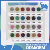 23kinds Color Glitter Transferencia de Calor Vinilo / Htv Venta al por mayor