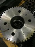 Rueda de engranaje de fabricación de estructura de acero