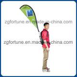 Различная таможня формы рекламируя флаги пера Backpack