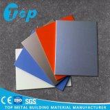 Único painel de alumínio colorido para a decoração do revestimento da parede de cortina