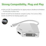 DP возникновения кобры миниый к переходнике VGA+HDMI+DVI