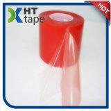 cinta de doble cara del animal doméstico rojo de gran viscosidad grueso de la película de 0.2 milímetros