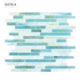 Foshan Material de construcción del mercado Azulejo azul de la piscina Mosaico del azulejo del vidrio