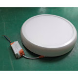 12W Curve Round LED Panel Light voor Surface