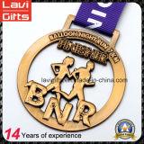 Medalla superventas del metal del deporte de la acabadora del maratón