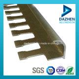 Puder-Beschichtung-Aluminiumaluminiumprofil für Fliese-Ordnungs-Ecke