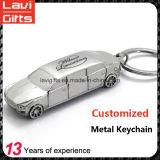 Carro de metal feito sob encomenda Keychain Shaped do Sell superior