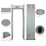 強い対妨信の機能LCDの表示6のゾーンの通り抜け通路の金属探知器
