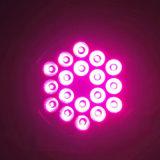 결혼식 (P18-4)를 위한 우량한 가벼운 효율성 LED 18X10W RGBW 4in1 급상승 동위 빛