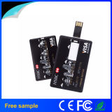 Привод вспышки USB кредитной карточки печатание логоса Colorfull свободно образцов