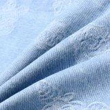 Ткань джинсовой ткани жаккарда Spandex хлопка джинсыов