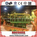 De binnen Apparatuur van de Speelplaats van het Park Amusemt voor Kinderen
