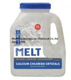 얼음 용해를 위한 칼슘 염화물 펠릿 또는 Prills