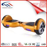 Auto astuto certificato UL2272 che equilibra il trasportatore adulto personale di Hoverboard con l'oro Light- del LED