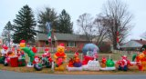 Décoration de nouvelle année Papillote de Noël gonflable