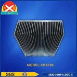 Disipador de calor de la protuberancia de la aleación del aluminio 6063 del poder más elevado
