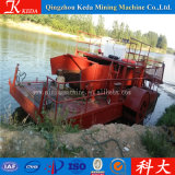 Máquina de corte de la mala hierba del agua / plantas acuáticas que cosechan la maquinaria
