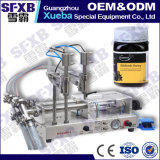 Por completo máquina de embotellado semi automática doble neumática del tarro de la miel de la abeja de la pista Sfgy-120-2