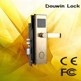 Blocage de porte de clé de carte d'acier inoxydable pour l'hôtel