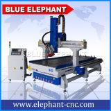 Muebles 1330 que hacen la máquina, taladradora de madera del CNC de 4 ejes para la madera, muebles, aluminio