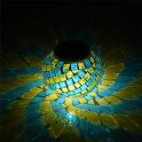 색깔 변화를 가진 방수 모자이크 유리 태양 강화된 테이블 빛
