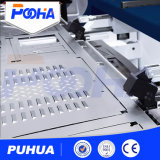Prensa de sacador gruesa hidráulica de la torreta del CNC para la placa de perforación de la hoja