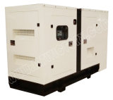 Super Silent Diesel 45kVA Genset certifié CE Water-Cooling avec UK Made Perkins Engine for veille utilisation