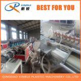 Estirador de hoja plástico de madera del perfil del mármol del Faux del PVC WPC que hace la máquina