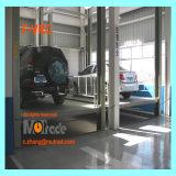 Auto Shandong-Qingdao Mutrade, das hohen Pfosten-Fahrzeug-Transport-Aufzug der Fußboden-vier anhebt