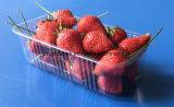 Bandeja de empaquetado de empaquetado de la fresa de la bandeja de la fruta de la ampolla de las cubiertas 300 gramos