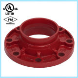 Duktiles Iron Flange Adaptor (Grooved Rohrfitting) FM/UL Approved