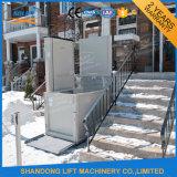 Petit ascenseur vertical pour fauteuil roulant pour personnes à mobilité réduite