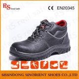 Chaussures de sûreté neuves de modèle pour des travailleurs de la construction, prix de chaussures de sûreté