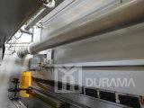 Máquina de dobramento hidráulica de Durama com o controlador do CNC da linha central de Estun E200p dois