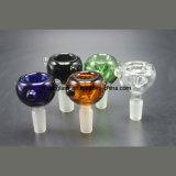 de Kom van het Glas van 14mm/18mm voor Pijpen van het Glas van de Pijp van het Glas de Rokende