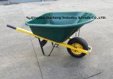 120L Good Qualityの重義務Plastic Wheelbarrow (WB8606)