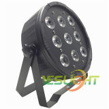 DMX512 slanke LEIDENE Lichte 9PCS*10W RGBW 4in1 LEDs Draadloze Facultatief van het Stadium