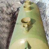 El tanque séptico subterráneo industrial químico del tanque GRP de FRP