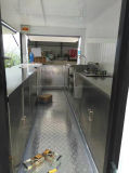 Actory OEM 서비스는 판매 유럽을%s 거리 음식 트레일러 밴을 주문 설계한다