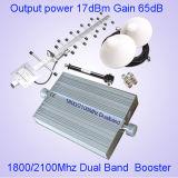 Mobiele GSM van de Band 900/1800MHz van het Signaal Hulp Dubbele Repeater st-1090A
