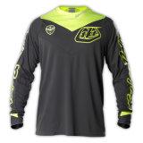 Желтая ткань сетки изготовленный на заказ Джерси полиэфира сублимированный Motocross (MAT35)
