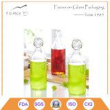 Übervolle Glasflasche 640ml im Schwergewichts- Entwurf
