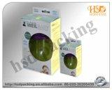 Продукты Skincare упаковывая коробку бумаги складывая