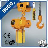 Инструмент руки изготавливания поднимаясь таль с цепью Дубай 2 тонн электрическая