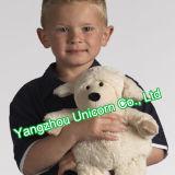 Jouet mou de peluche de moutons de chèvre de noir de peluche de la CE EN71