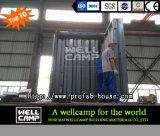 Casa piegante prefabbricata portatile del contenitore di Wellcamp