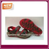 Ботинки сандалии красных цветов для сбывания